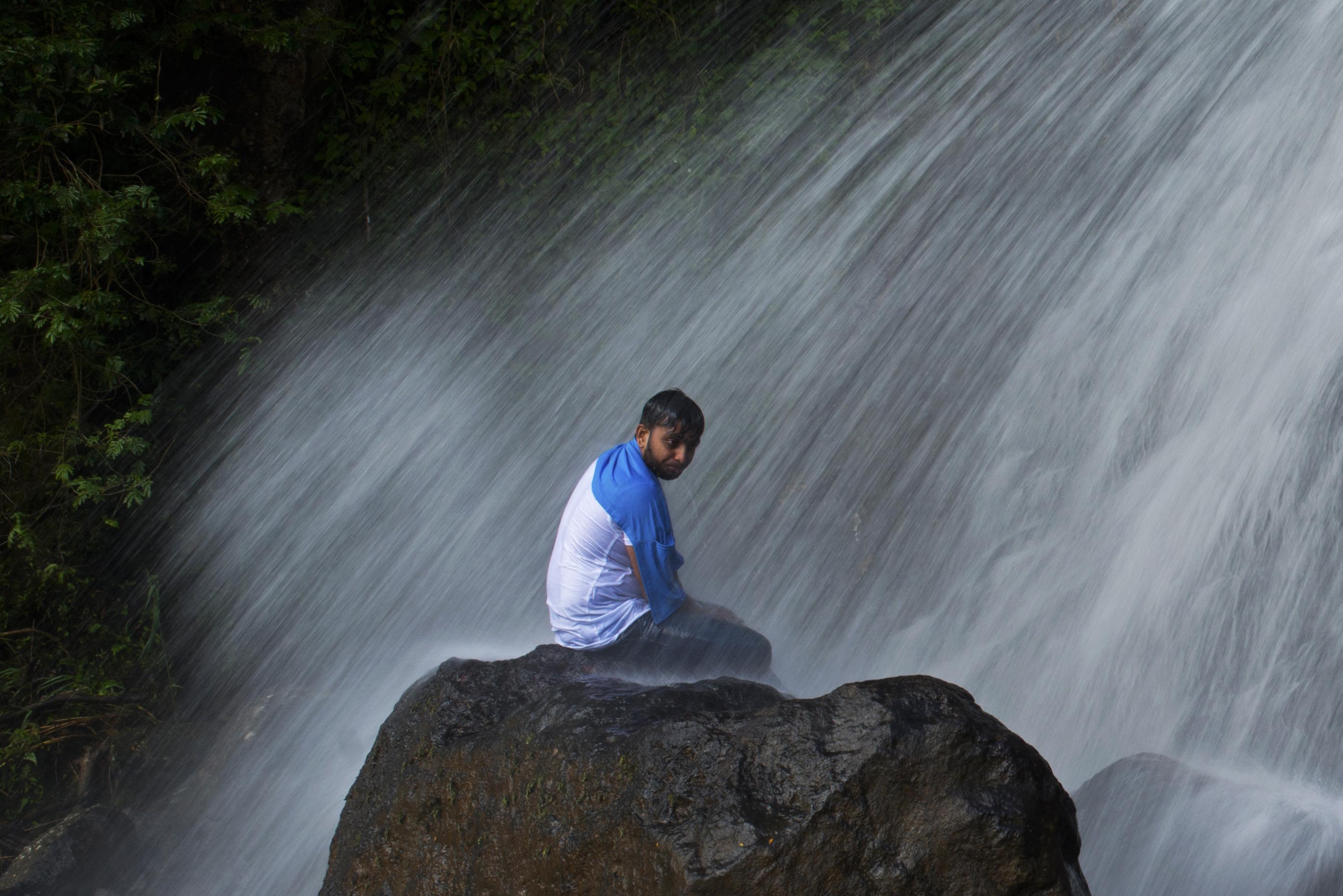 Hunnas Falls Rocksurfer