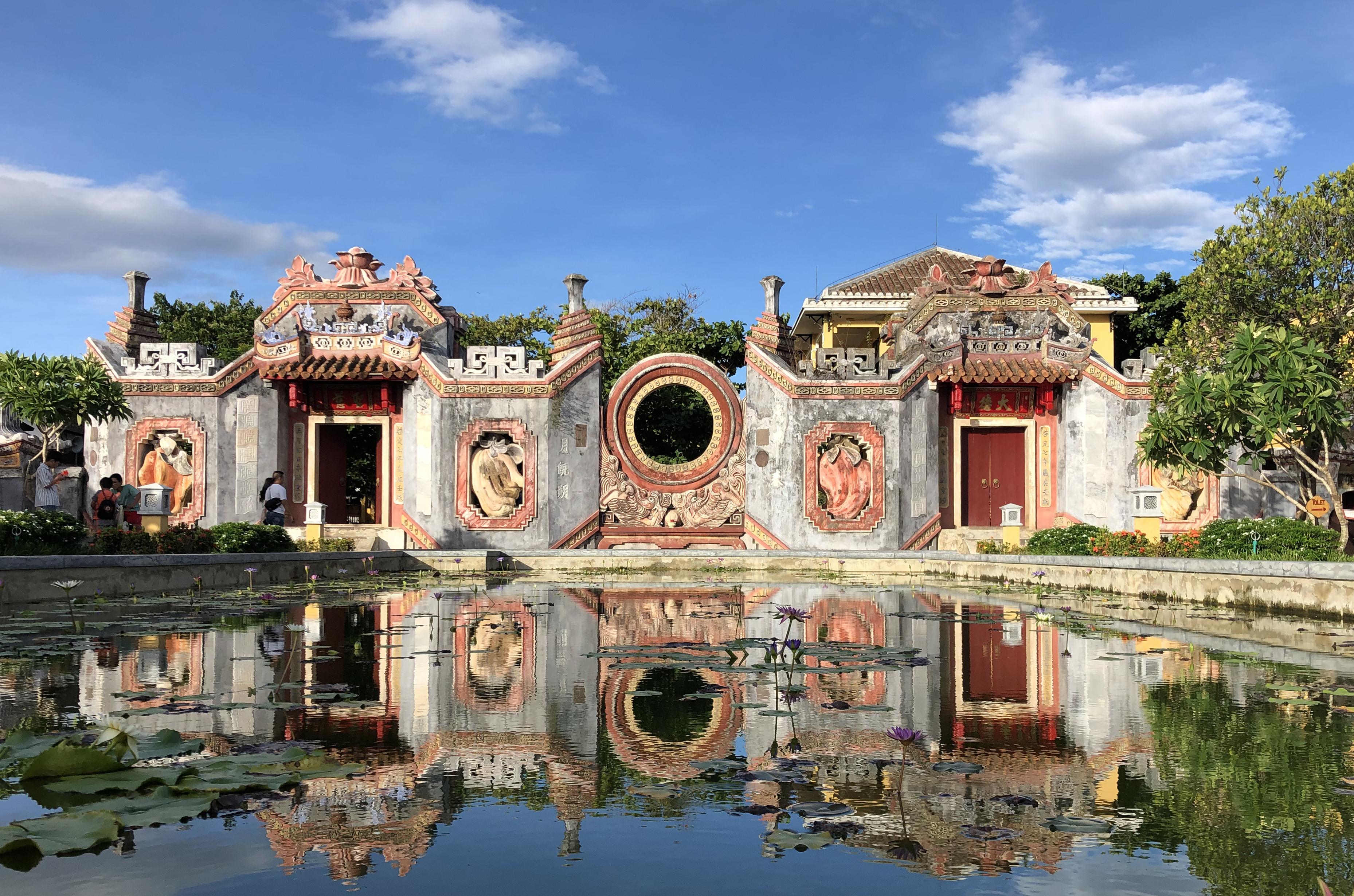 Hoi An Temple Entrance