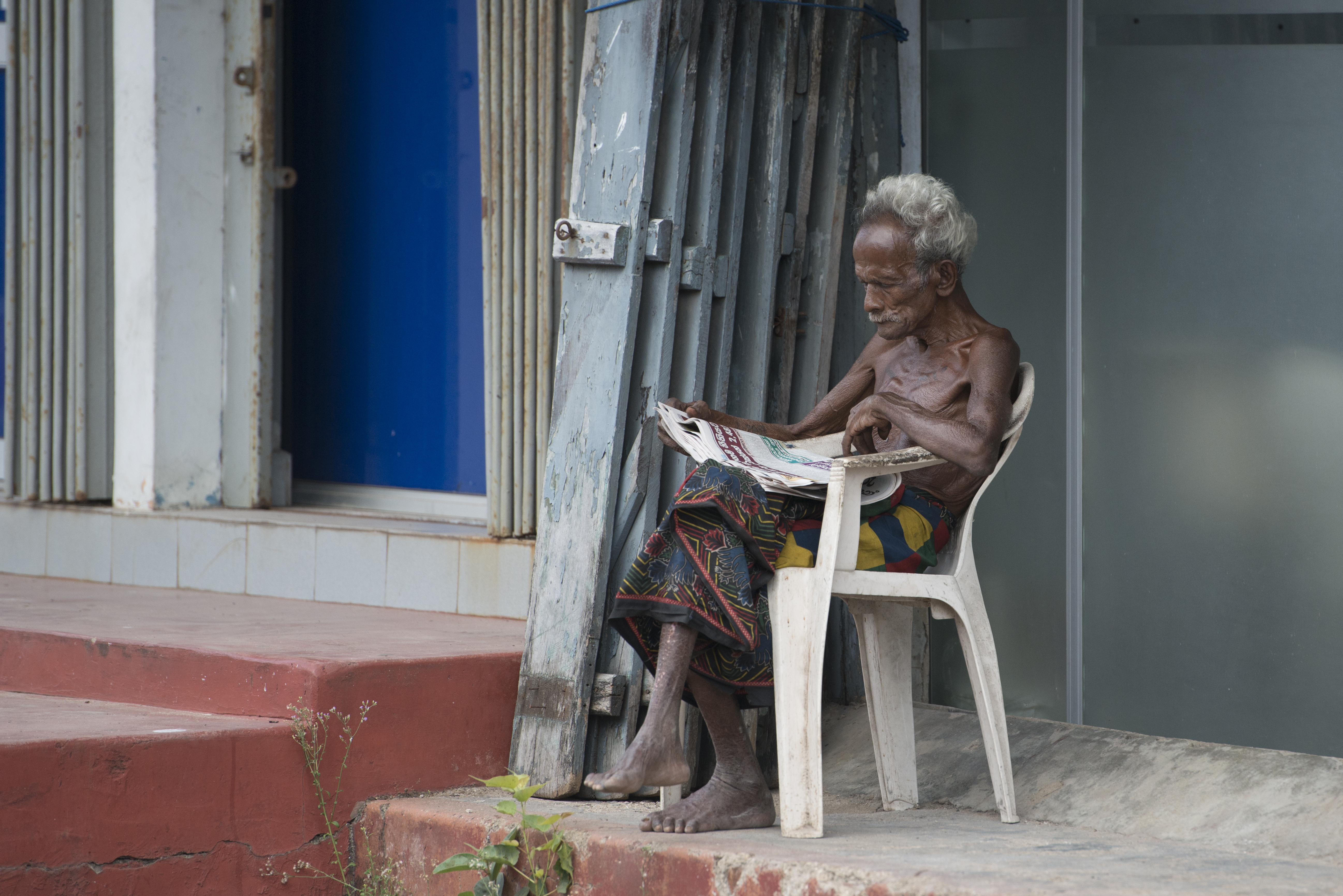 Trincomalee_old man