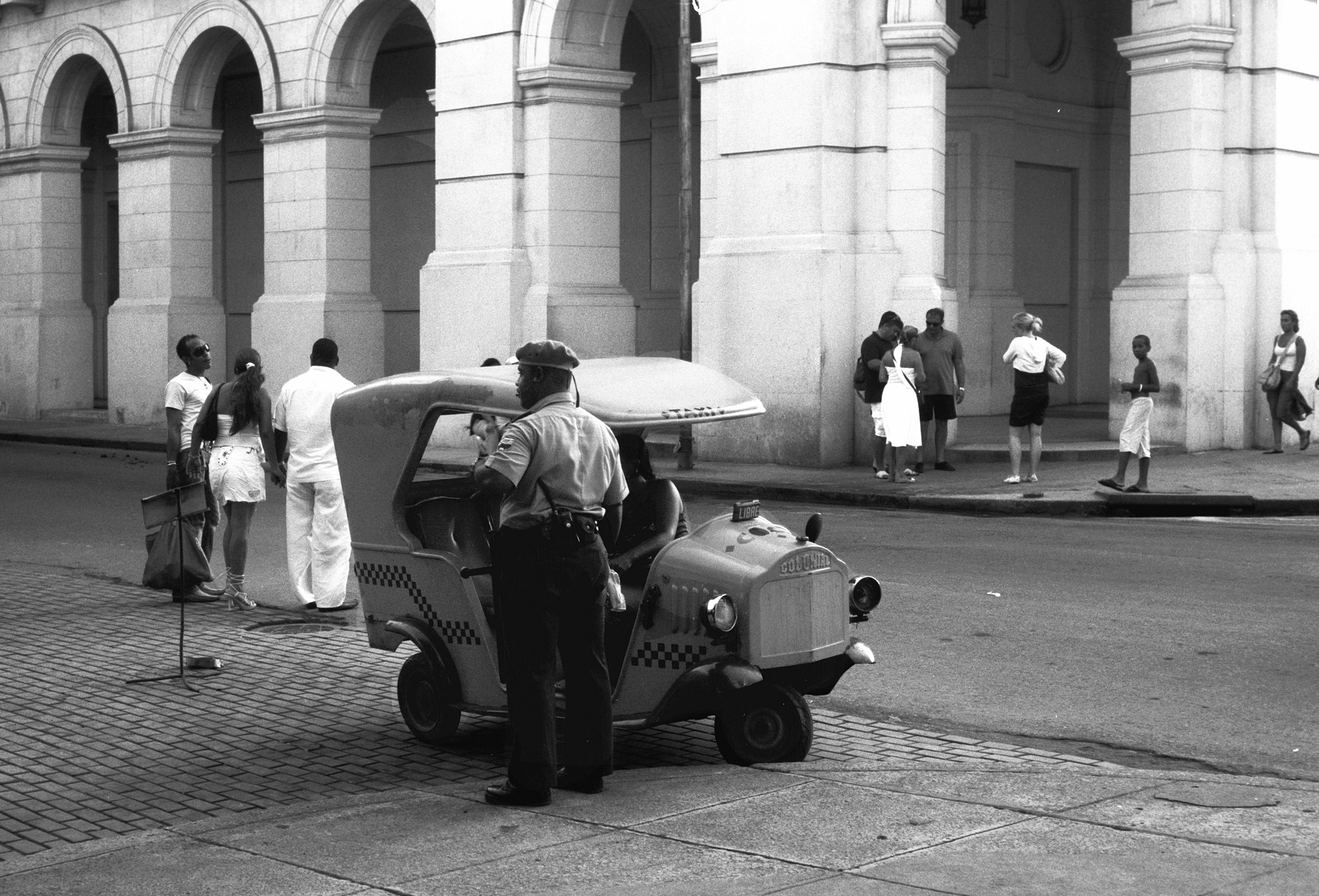 Cuban police officer