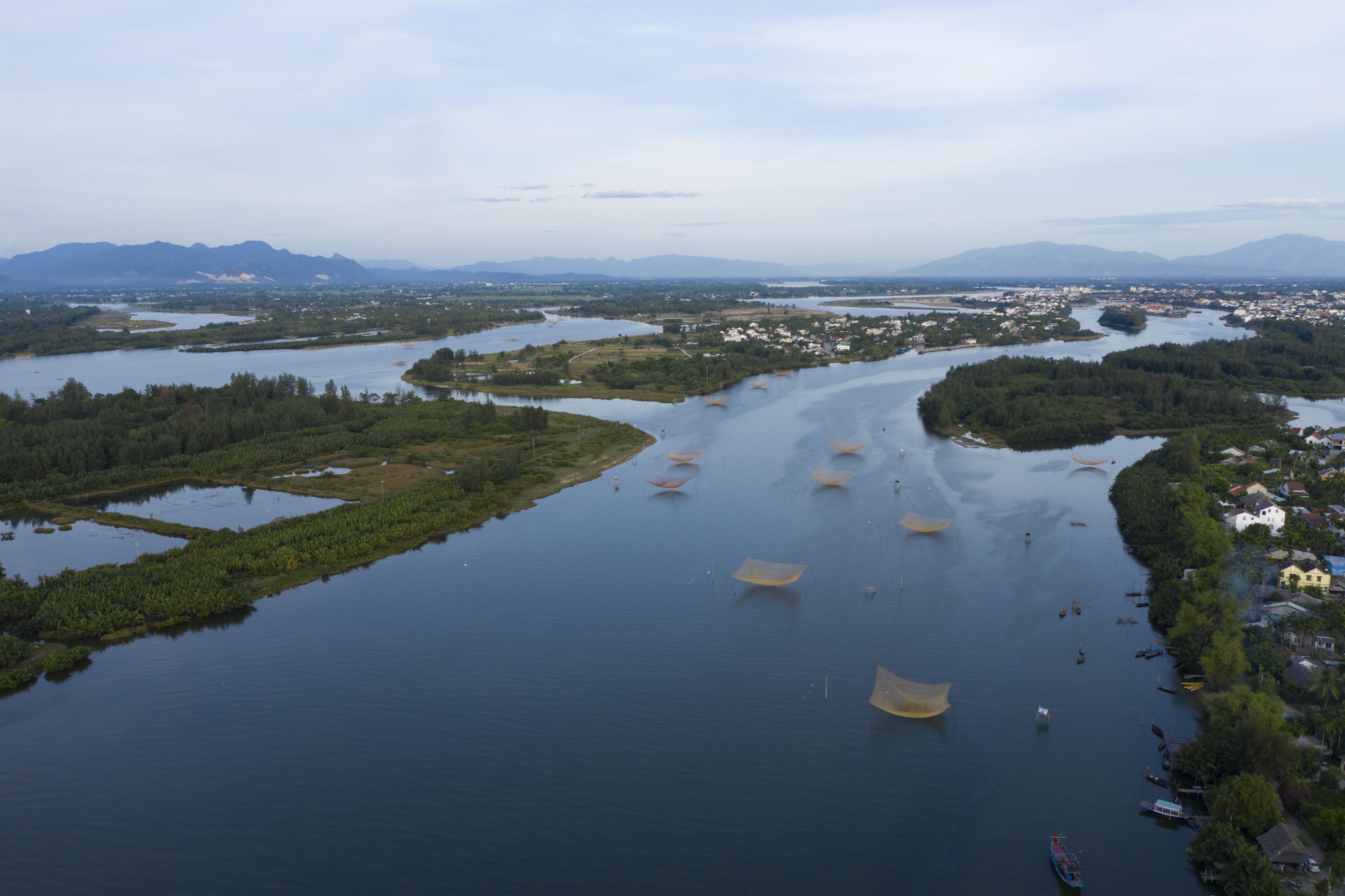 Thu Bon River Delta_Fishing Nets