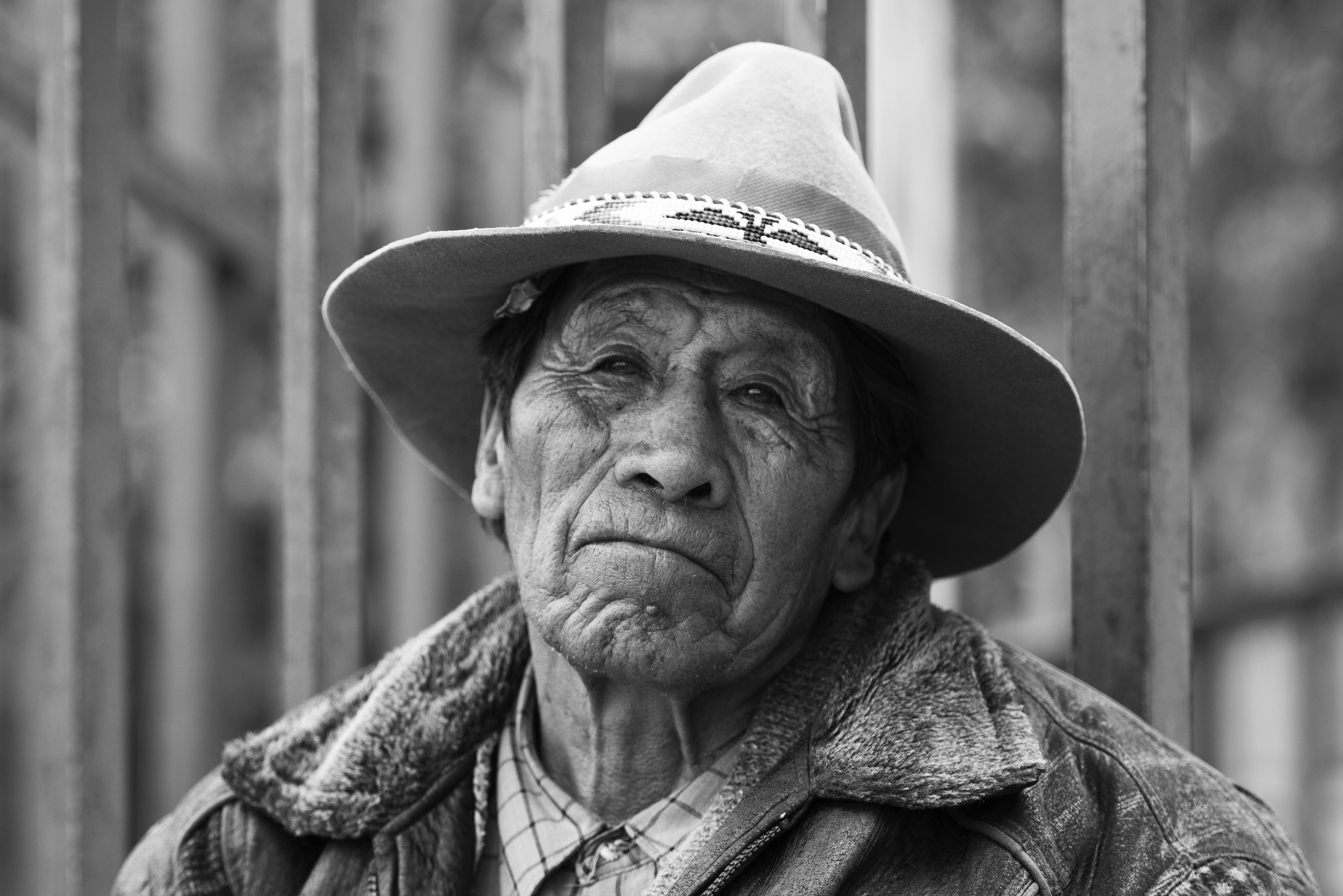 SH Bolivian Man