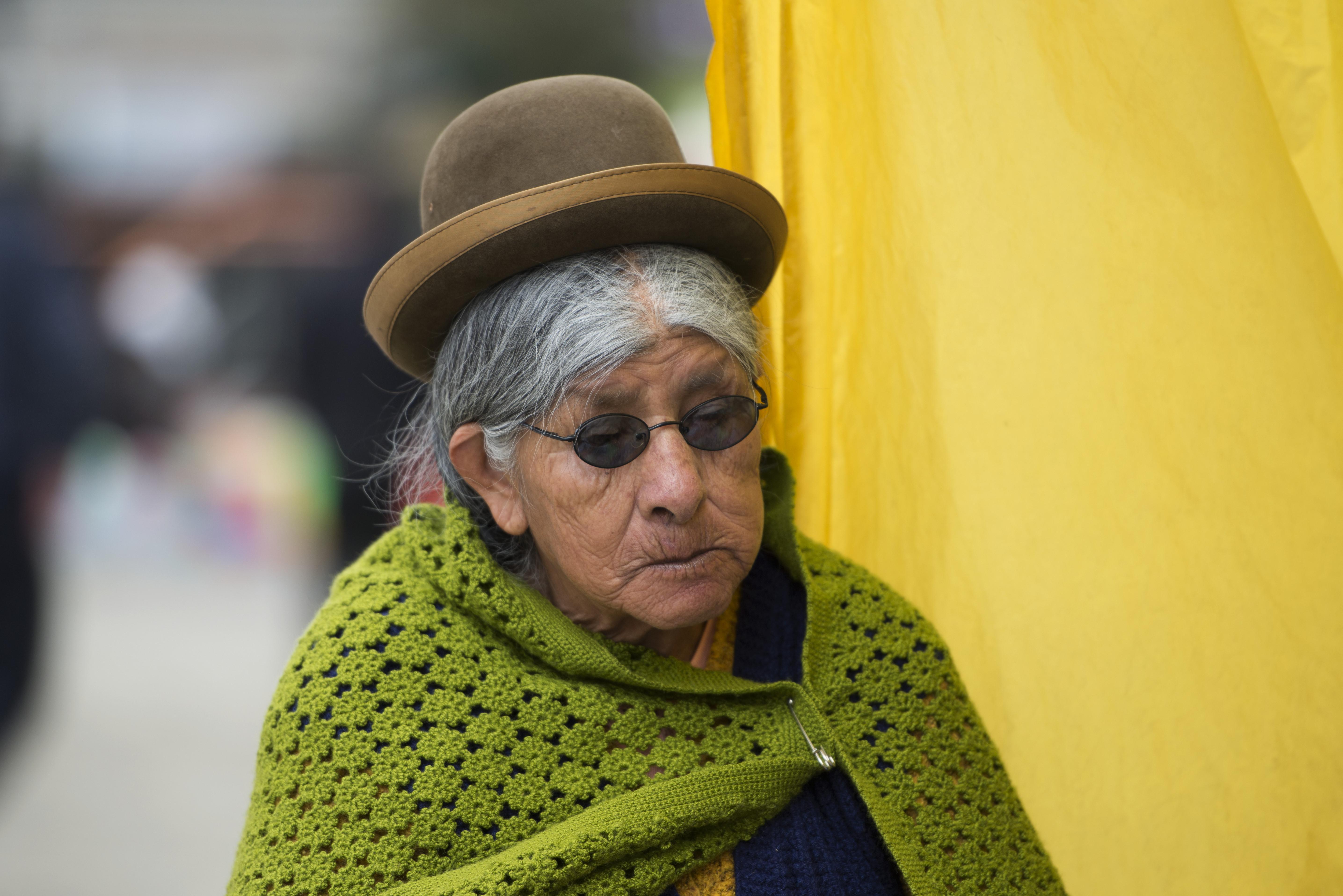 Old lady_La Paz