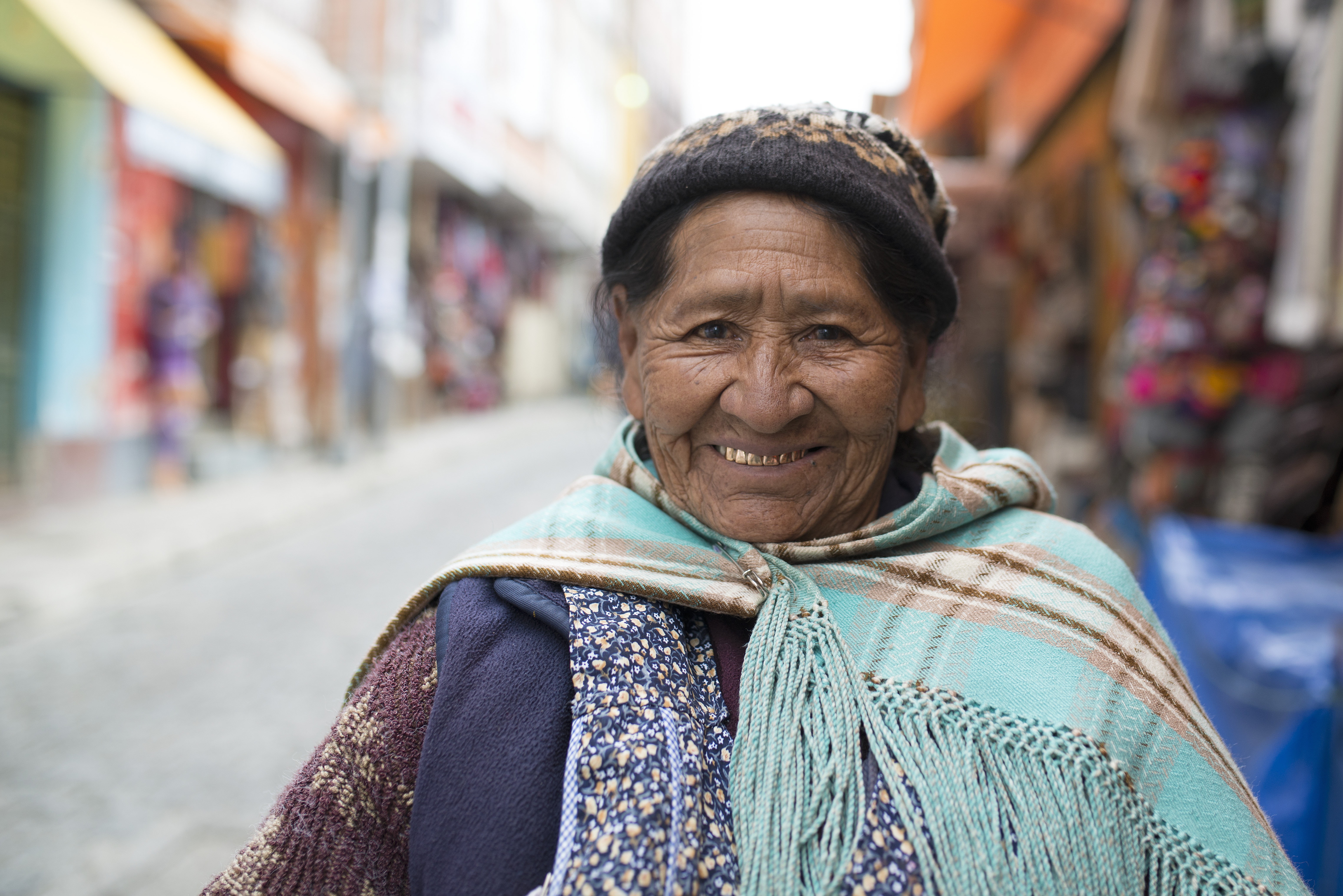 Woman La Paz
