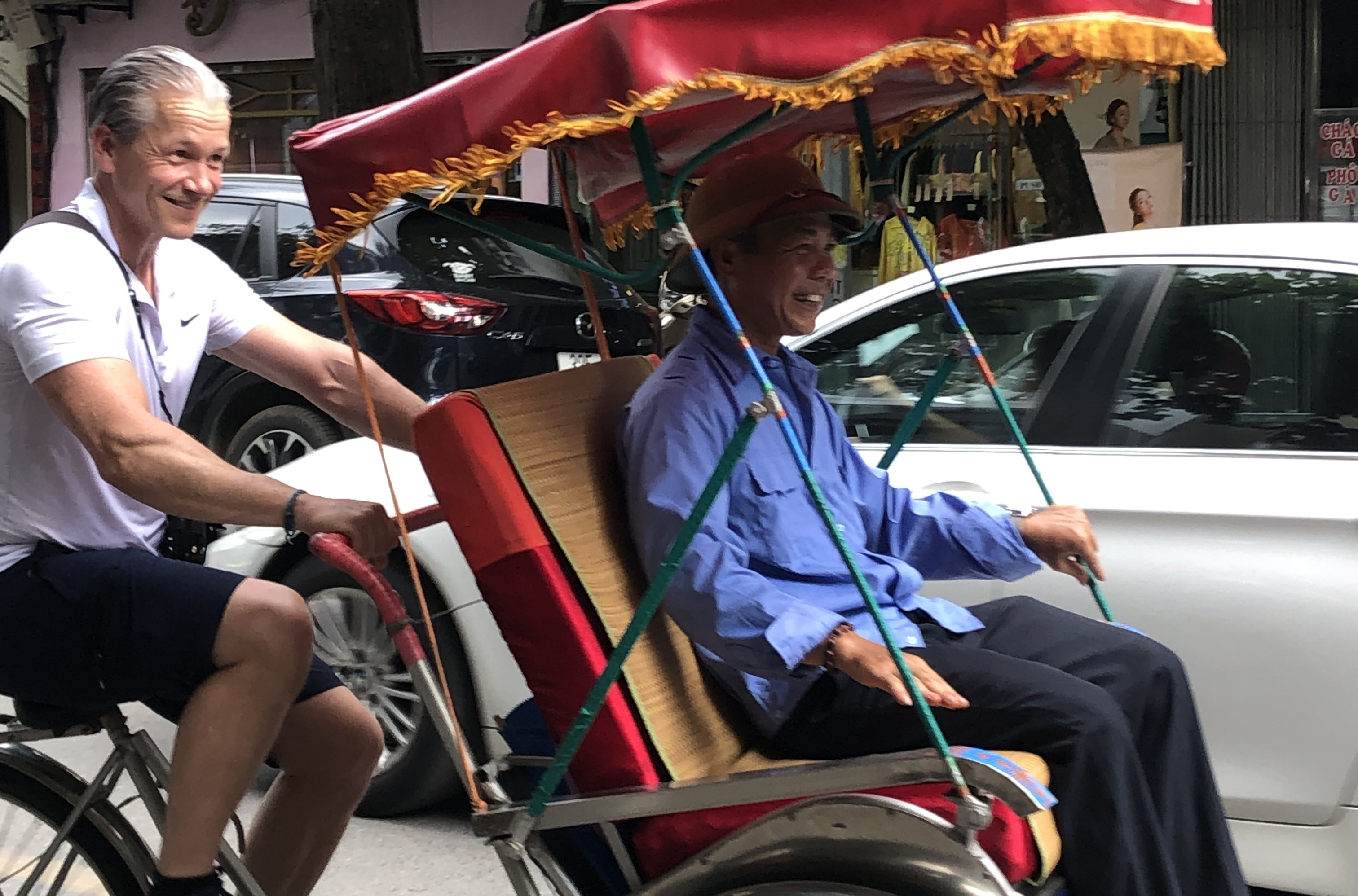 Bicycle Taxi_Hanoi