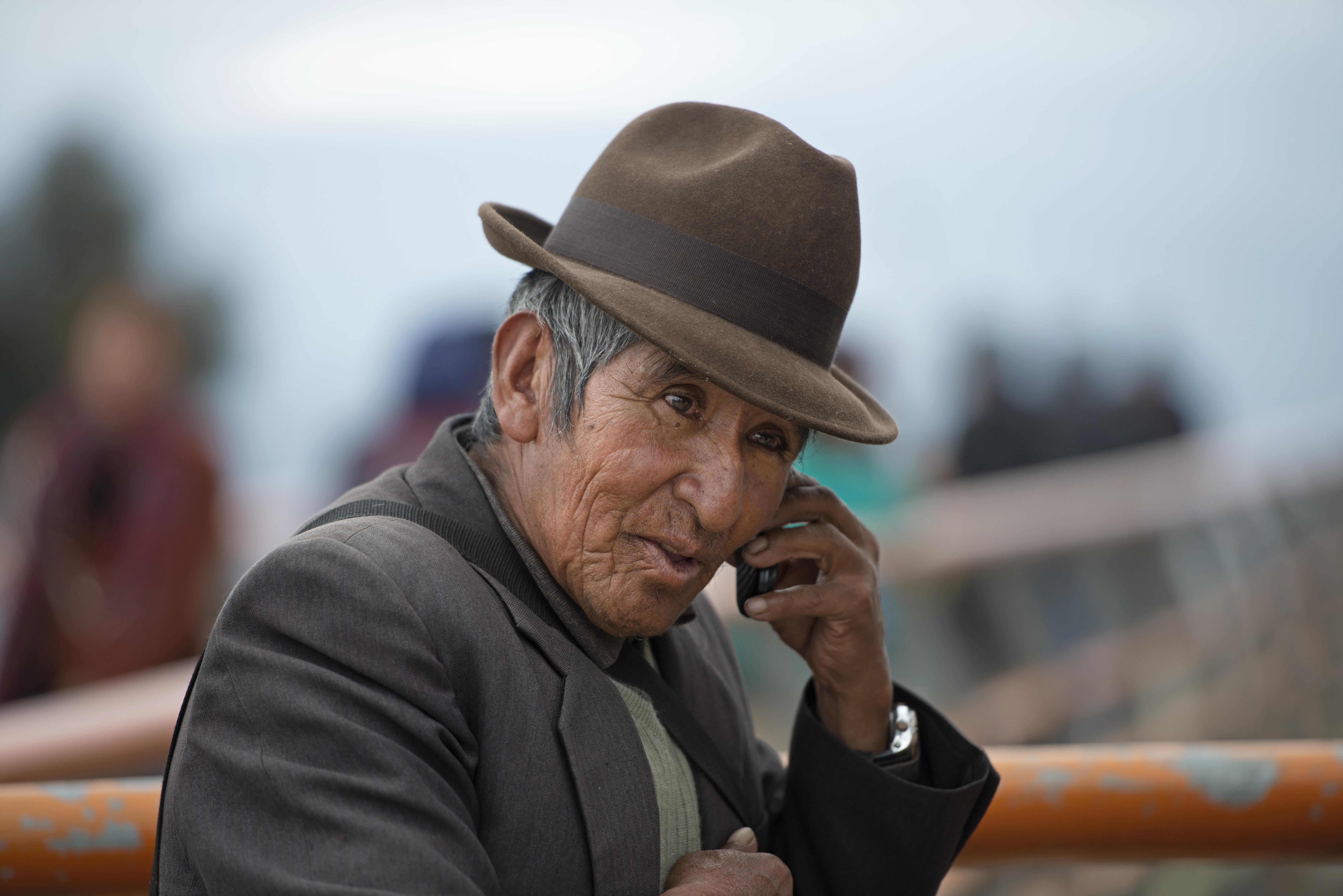 Old man_El Alto