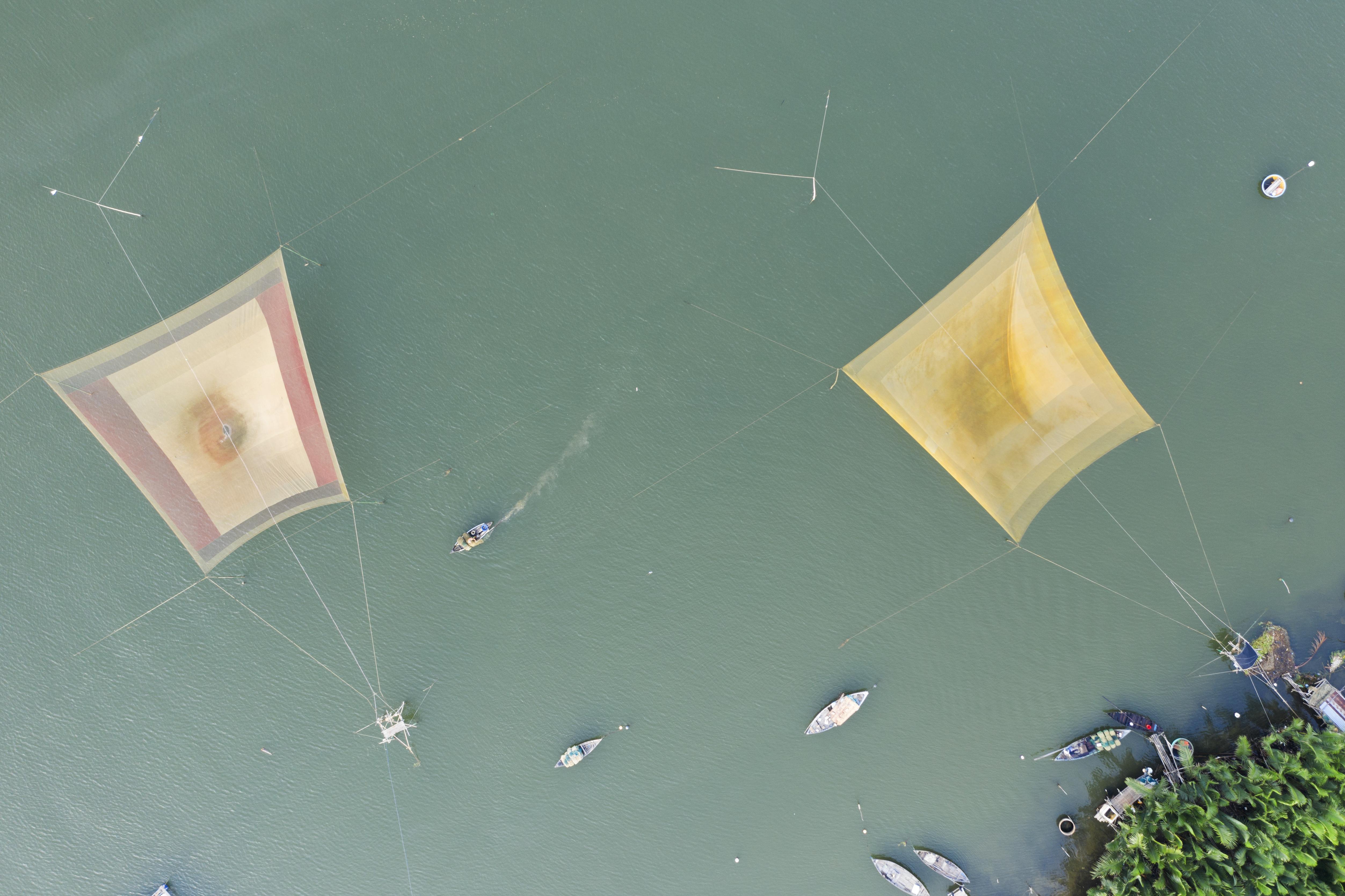Thu Bon River delta Nets
