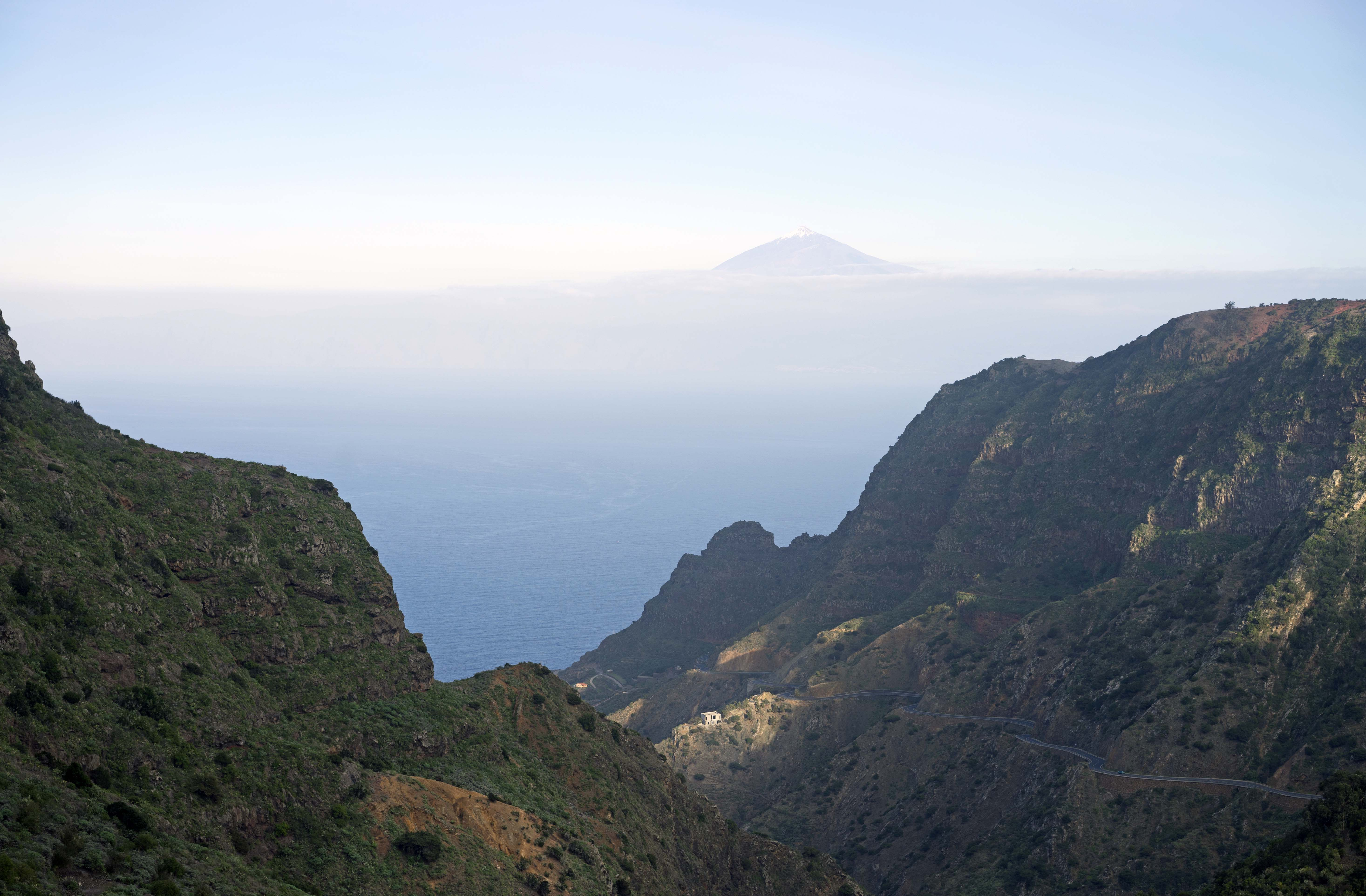 LaGomera_View_Teide_Tenerife