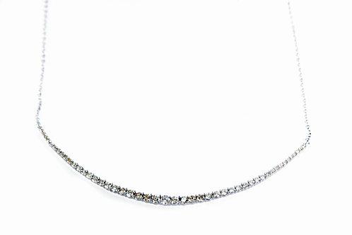 Diamond Arc Necklace