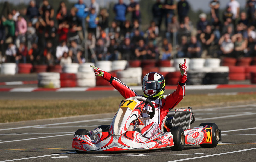 Bart Harrison Wins IAME Winter Cup