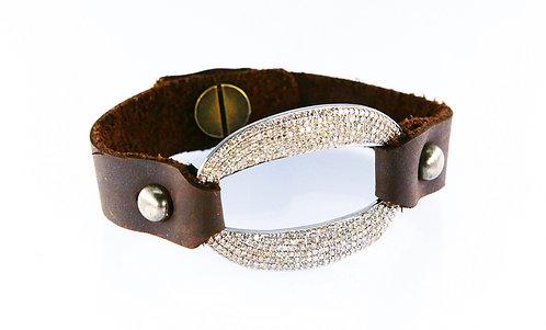 Oval Diamond Bracelet