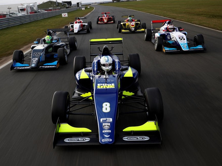 Kaylen Frederick claims fastest time at BRDC British F3 Media Day!