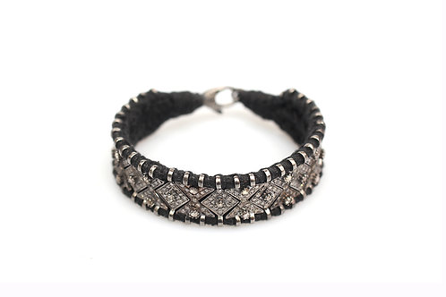 Lucky Lady Black Bracelet