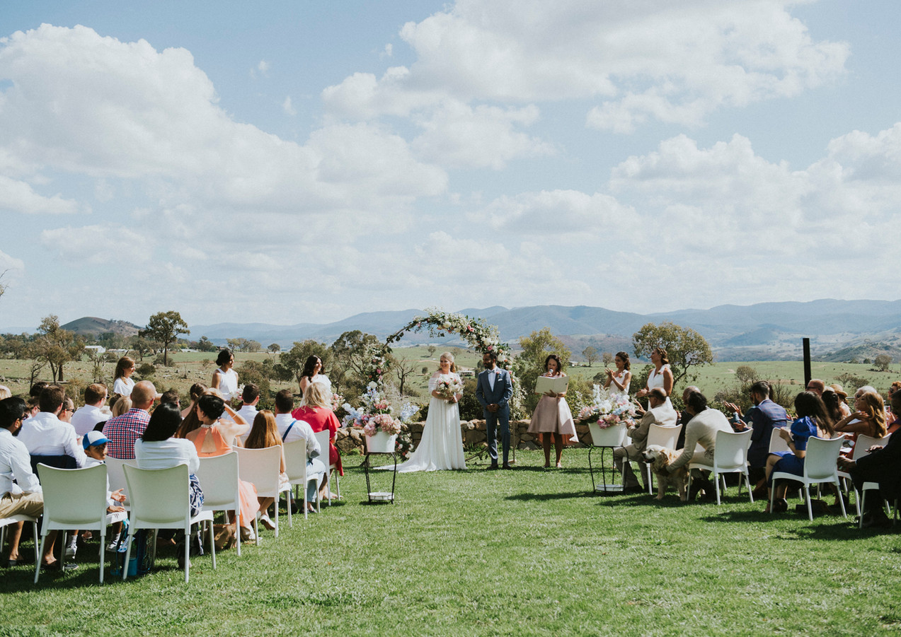 Wedding Canberra Wallaroo Wines