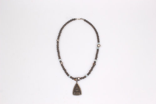 Buddha Wooden Necklace