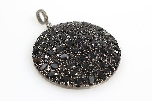 Black Spinel Pendant