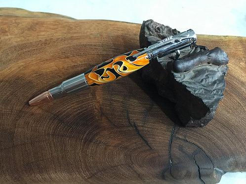 Flame Bullet Click Pen