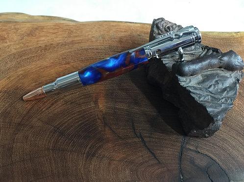 Red White & Blue Bullet Click Pen