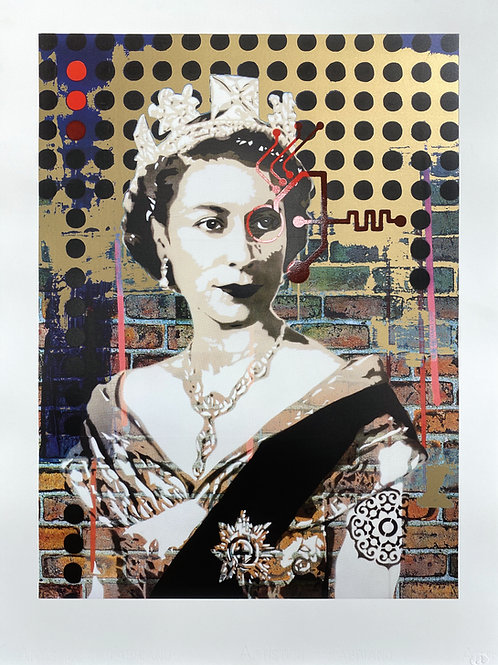 Queen 1.19(G) [gold on white]