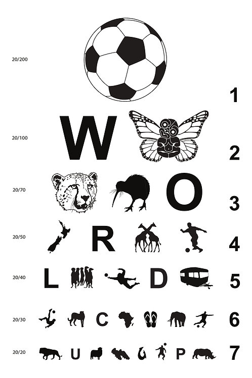 Football Eye Chart for NZ in South Africa 1.1