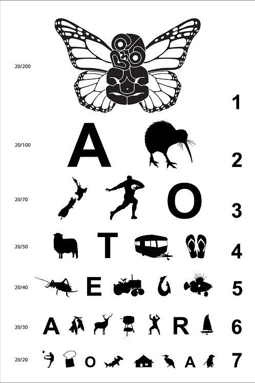 Eye Chart For Aotearoa 1.2