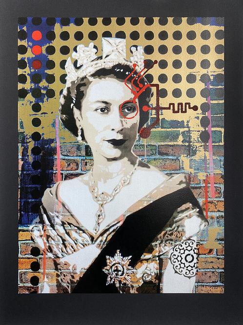 Queen 1.19(G) - BV [gold on black]