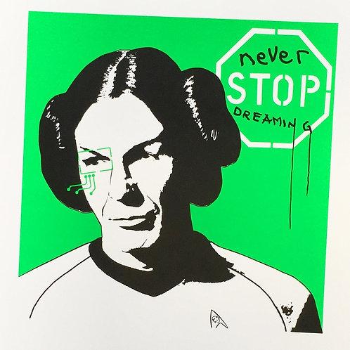 Princess Spock 1.3 (Bright Green)