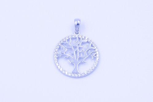 Zawieszka drzewo srebro 925