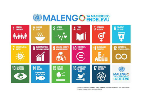 Sustainable Development Goals (SDGs) in Kiswahili