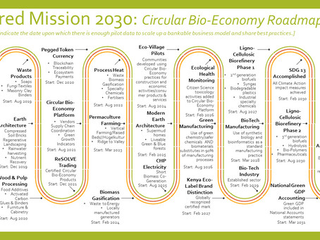 Rolling out Circular Bio-Economy 2030 transition roadmap and pathways