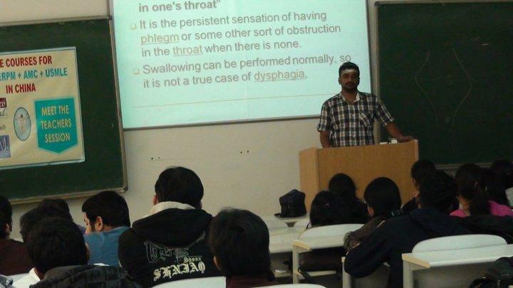 Lecture in Dalian, PRC (2010)