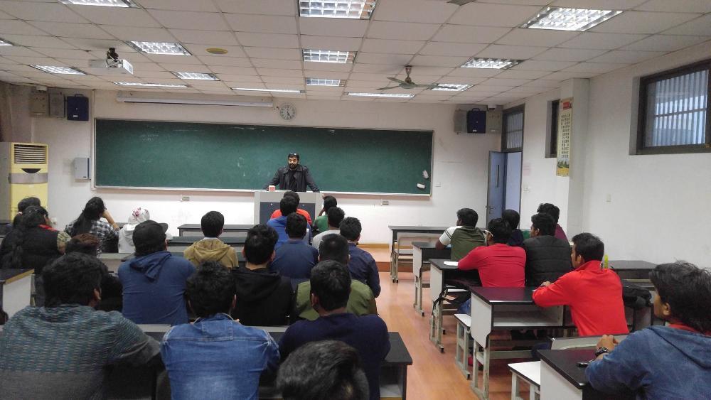 Lecture in Suzhou, PRC (2016)
