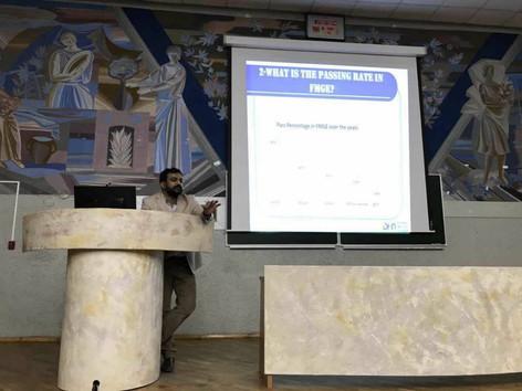 FMGE orientation class KSMU (Nov 2017) (