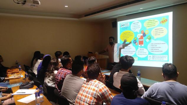FMGE orientation class in Anhui Universi
