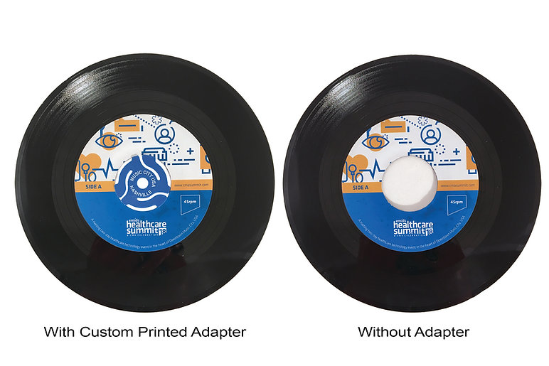 45RPM Invitation_With and Without Custom
