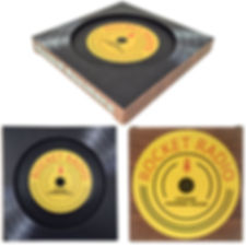 Mini Record Coaster Paperboard Box MSTRL