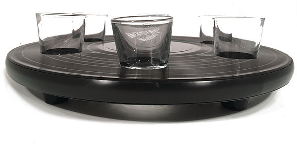 Shot Glass Tray_Side View_Backstage Whis