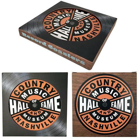 Record Label Coaster Paperboard Box MSTR