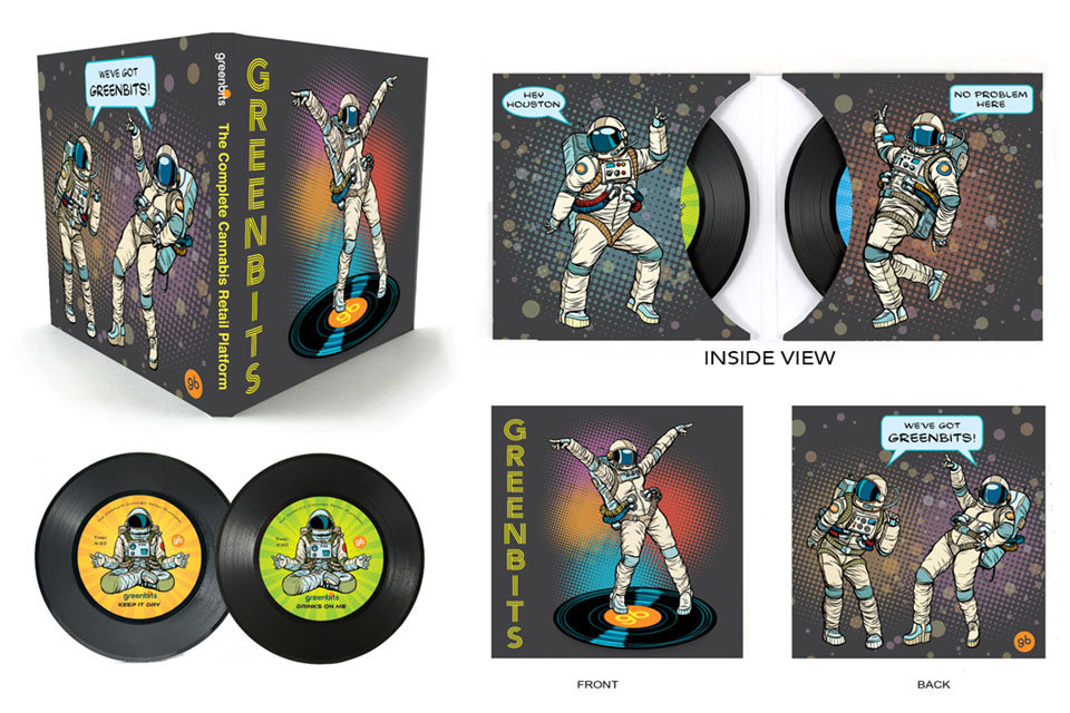 Double Sleeve - Mini Record Coasters - G
