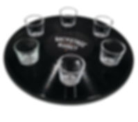 Shot Glass Tray_Backstage Whiskey_8X10_3