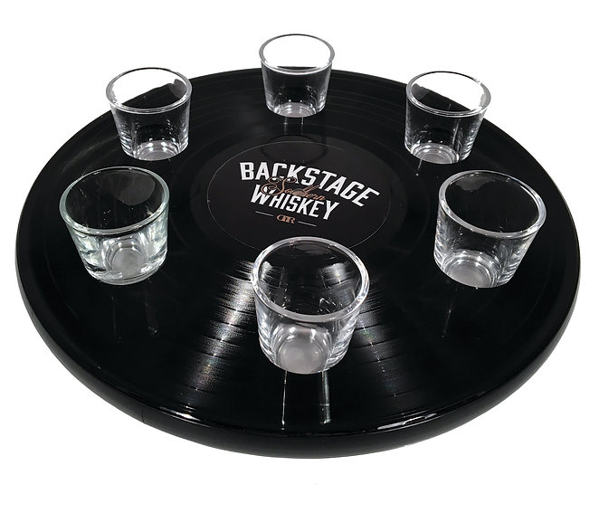 Shot Glass Tray_Backstage Whiskey_8X10_3