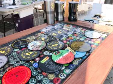 Vinyl Record Bar Ware