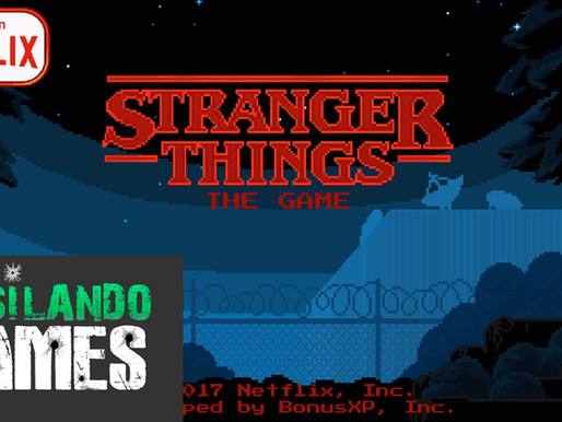 Game de Stranger Things estilo 8 bits para celulares  Fusilando Games