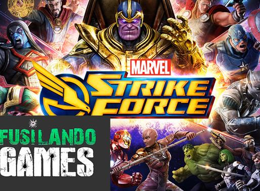 Marvel Strike Force   Fusilando Games