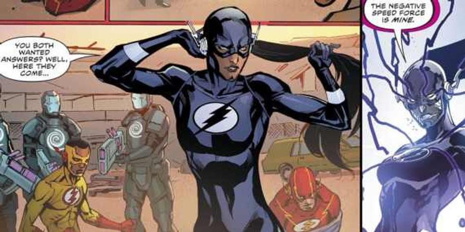 The-Flash-Meena-Black-Negative-Speed-Force