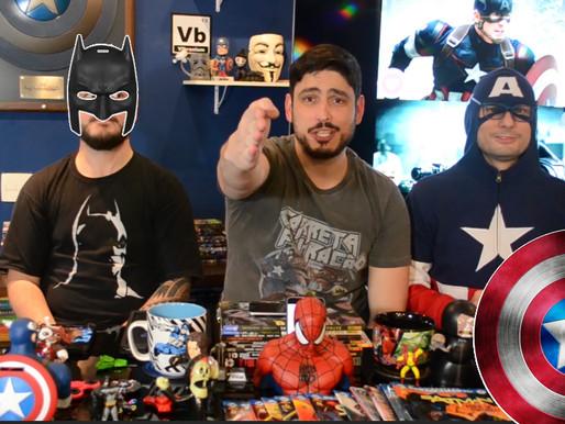 Batman vs Capitão América | Fusi Kombat