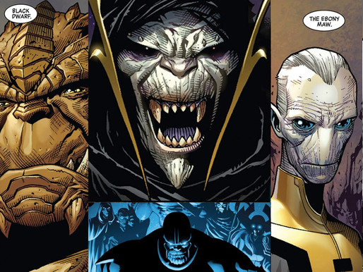 "Entenda os 4 novos personagens da Marvel nos cinemas ""The Children of Thanos"""