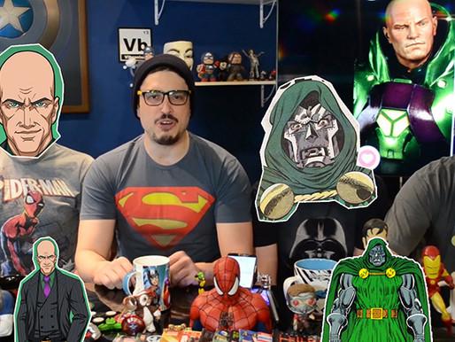Lex Luthor vs Dr. Destino | Fusi Kombat