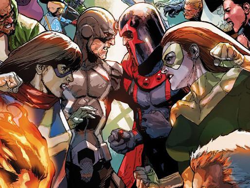 Inumanos vs. X-Men anunciado para os quadrinhos