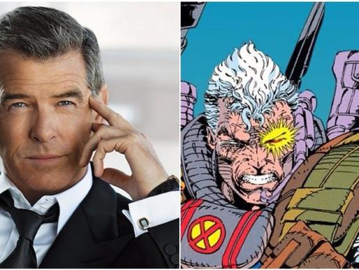 Pierce Brosnan pode ser o mutante Cable em Deadpool 2